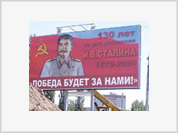 Stalin billboards appear in Russian city indicating recreation of Soviet past