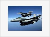 US jets violate Iran's airspace