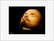 Communists worship only ten percent of Lenin's embalmed body