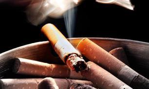 Every third Russian smokes