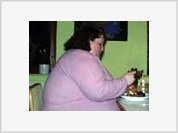 Fat woman loses weight and disappears from her husband's bed