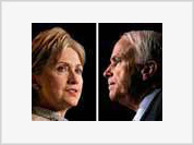 McCain and Clinton take the lead in Super Tuesday primaries