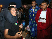 European men watch migrants rape their women