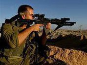 Strange manoeuvres of Israeli army