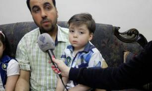 Family of 'symbol of Aleppo's suffering' announce support for Bashar Assad