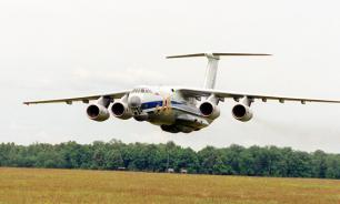 Il-76 crashed due to sudden collision with the ground