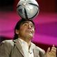 Karpov plays chess with Maradona