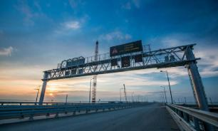 Russia about to launch super bridge to Crimea