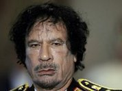 The fall of Colonel Gaddafi