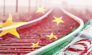China launches railway communication with Iran