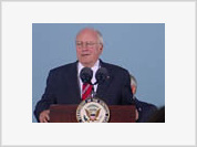 Cheney assures the world that Russia will not become enemy of America