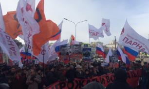 Nemtsov march turned into crazy quilt about nothing