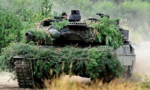 German tanks scare off Russia from Lithuania
