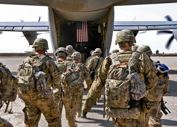 China criticized the United States after Washington announced the end of its mission in Afghanistan.