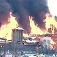 Immense fire burns largest souvenir and arts fair in Moscow
