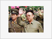Kim Jong-il saves his new wife from US missiles under the ground