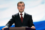 Medvedev goes to United Russia