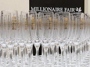 Millionaire Fair in Moscow strikes visitors' imagination with luxury