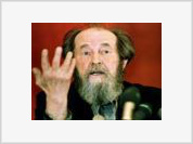 Nobel Prize Winner Solzhenitsyn Has Died