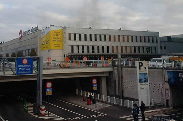 Events in Brussels observed from a spaceship