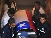 Salvador Allende's body exhumed