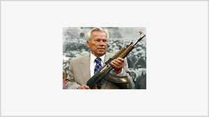 Kalashnikov gun celebrates 60th anniversary
