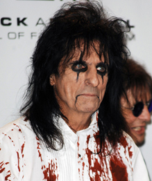 Sock rocker Alice Cooper turns 65