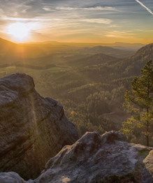 Landscapes of Bohemian Switzerland