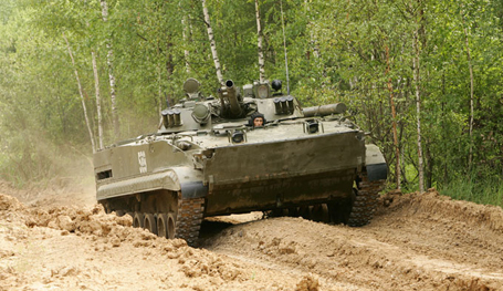 Russia s armored vehicle BMP-3