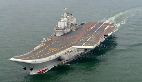 China s first aircraft carrier