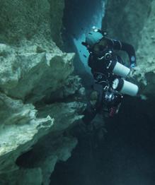 Cenote Angelita: Underwater river
