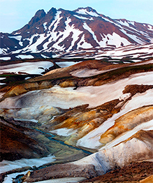 The Valley of Geysers in Russia's Kamchatka