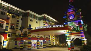 Legoland in California unveils Lego hotel