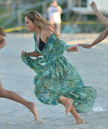 JLo on video shoot