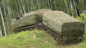 DT-30 Vityaz tracked vehicle