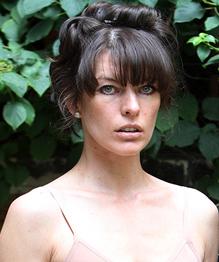 Milla Jovovich at Venice art festival