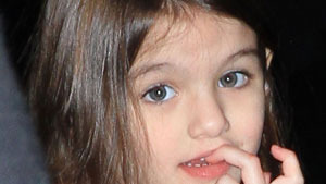 Suri Cruise made victim of fashion at 5