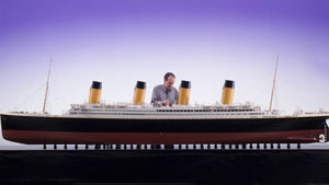 Titanic in miniature