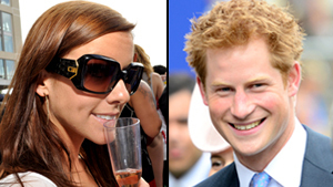 Prince Harry finds himself Middleton's lookalike