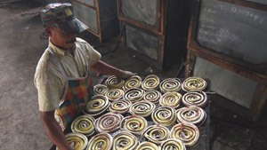 Snake slaughterhouse in Indonesia