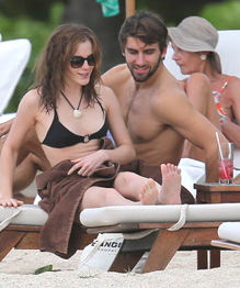 Emma Watson and her new boyfriend enjoying themselves