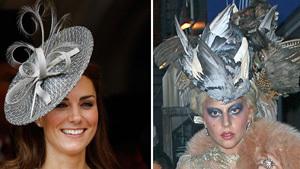 Kate Middleton vs. Lady Gaga in hat battle
