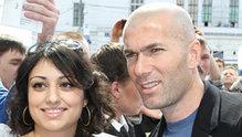 Football legend Zinedine Zidane in Moscow