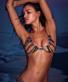 Irina Shayk for Agua Bendita swimwear