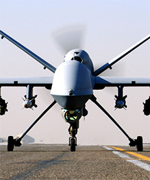 Drones in modern air force