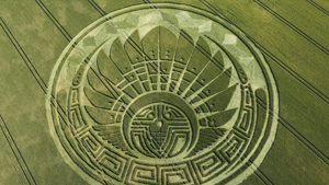 Crop circles created by English men, not aliens