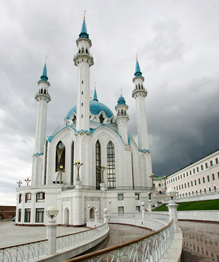 The main Juma Mosque of Tatarstan and Kazan