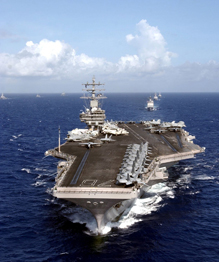 Most powerful aircraft carriers