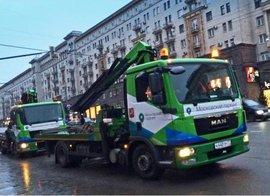 Московских эвакуаторщиков будут контролировать через ГЛОНАСС
