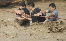 наводнение, Перу